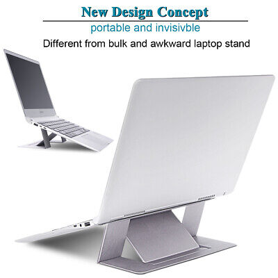 Comfortable Portable Invisible Laptop Stand Seamlessly Folding Notebook Holder
