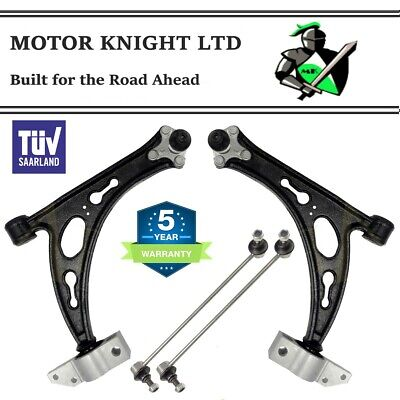 SEAT ALTEA & XL 2004>FRONT SUSPENSION CONTROL ARM WISHBONES & LINK BARS LH & RH