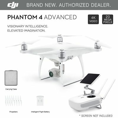 DJI Phantom 4 Advanced GPS Drone with 4K 20MP HD Camera - Brand New