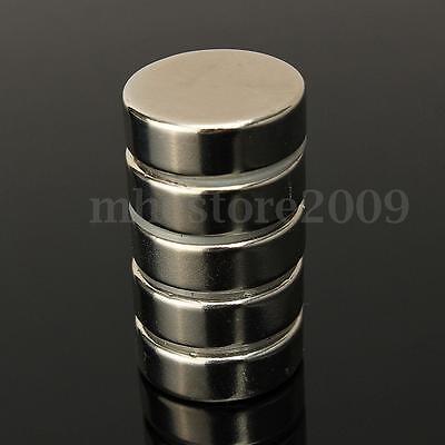 5-20x Big Strong N52 Neodymium Ndfeb Magnet Rare Earth Round Disc Fridge 30x10mm