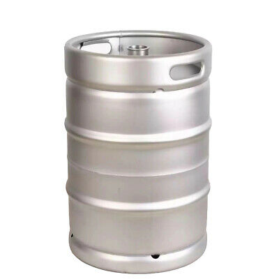 Stainless Steel Commercial Beer Half Keg 15.5 Gallon Sanke D Spear