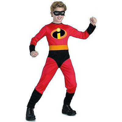 Dash Costume Kids The Incredibles Halloween Fancy Dress