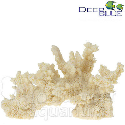 "Branch Coral Faux/Replica Reef Aquarium Nautical Decor 3.5"" 80048 Deep Blue Pro"