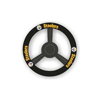 Pittsburgh Steelers Steering Wheel Cover NFL Football Team Logo Car Truck Auto