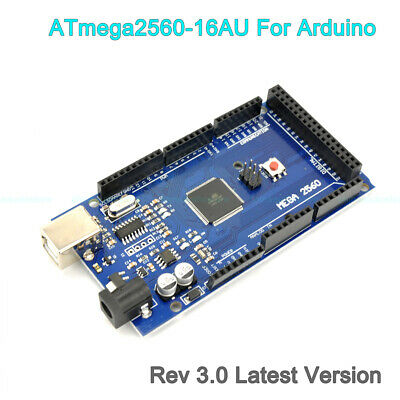 2019 Mega2560 Rev3.0 Atmega2560-16au Development Board Sbc For Arduino Usb Cable