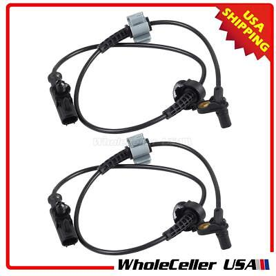 2x Front Left+Right ABS Wheel Speed Sensor For 07-12 Cadillac Escalade/ESV/EXT