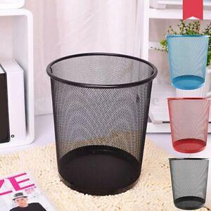 Premier Colourful Metal Mesh Waste Paper Net Basket
