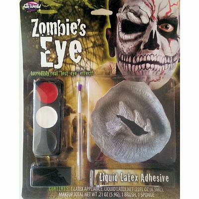 Skull Zombie Eye Makeup Special FX Kit Halloween Costume Accessory