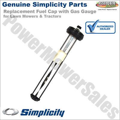 Simplicity Snapper Fuel Cap w/ Gas Gauge for Mowers & Tractors / 2171252SM
