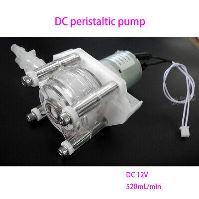12v Dc Large Flow Peristaltic Pump Corrosion Resistant Peristaltic Metering Pump