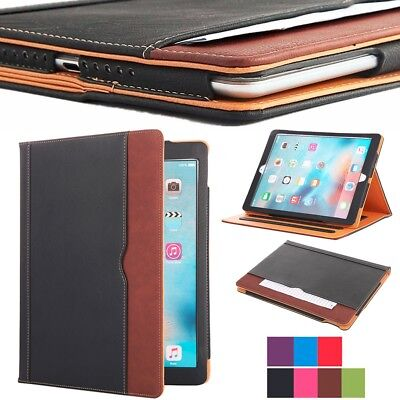 Smart Soft Leather Stand Folio Wallet Case Cover for Apple iPad Pro 12.9 inch