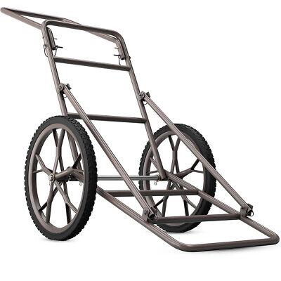 Folding Deer Cart Larger Capacity 500lbs Hauler Utility Gear