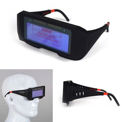 Auto Darkening Welding Mask Helmet Eyes Goggle Solar Powered Welder Glasses
