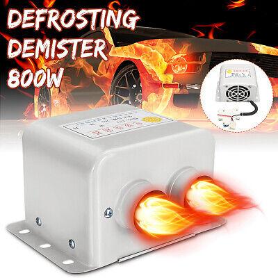 12V 800W Car Portable Fan Air Heater Demister Defroster Heating Warm Windscreen