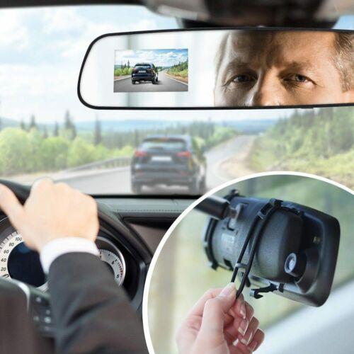 Aduro U-Drive Mirror Cam Rear View Mirror Dash Cam 720p 30fp Mirror Dash Cam