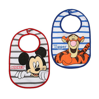 Lot de 2 bavoirs MICKEY & TIGROU