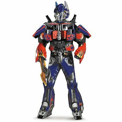 Transformers Optimus Prime Costume Adult Deluxe Theatrical Halloween Collectors - Theatrical Quality Costumes