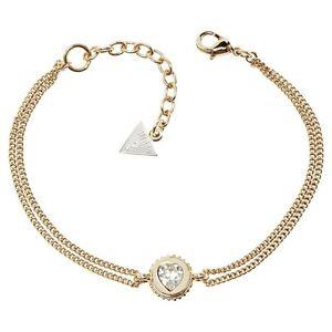 Guess Damen Armband Armkette Edelstahl gold  UBB21531-S