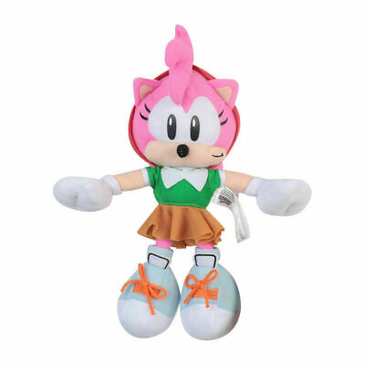 2019 Best Christmas Gift Amy Rose Plush Toys Stuffed Figure Doll fot Kids