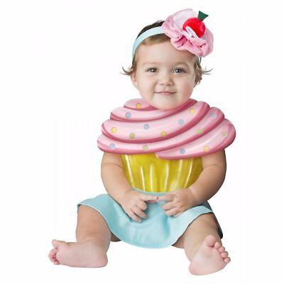 Incharacter Cupcake Cutie Bonbon-Süße Mädchen Kleinkinder Baby Halloween (Mädchen Cupcake Kostüme)