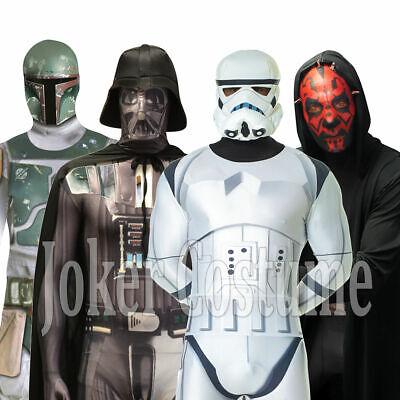 Morphsuit Star Wars Karneval Darth Vader Maul Stormtrooper Boba Fett Kostüm NEU