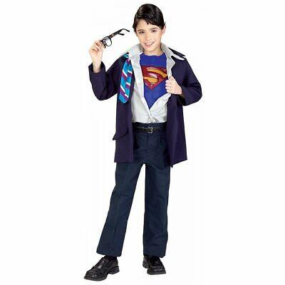 Kids Clark Kent Costume (Clark Kent Costume for Kids Superman Returns Superhero Halloween Dress)
