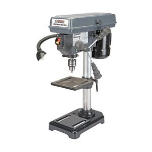 NEW 5 Speed Bench Top Drill Press - Tilt Table & Work Light HEAVY Duty FREE SHIP