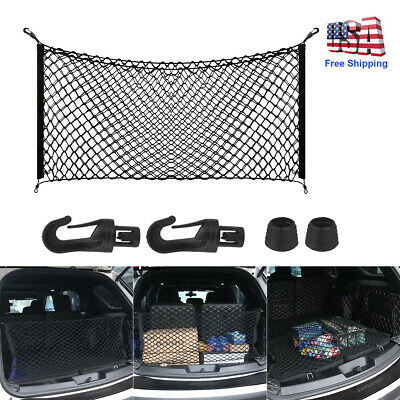 Car Accessories Envelope Style Trunk Cargo Net Storage Organizer Universal Big Acura Cargo Net