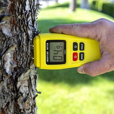 2 Pin Digital Wood Moisture Meter 0-99.9 Humidity Tester Timber Hygrometer Damp