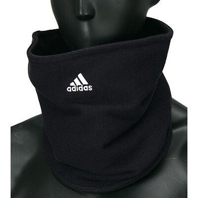 Adidas Game Day Football Fleece Neck Warmer Tubular Scarf Gaiter Black OSFM