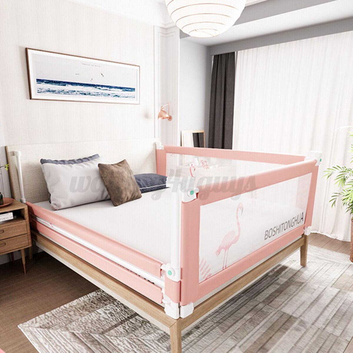 Baby Guard Bed Rail Toddler Safety Adjustable Kid Infant Bed