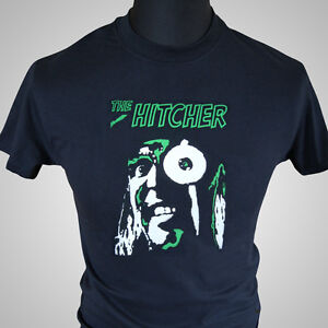 the hitcher mighty boosh retro tv series t shirt noel fielding cool comedy tee ebay. Black Bedroom Furniture Sets. Home Design Ideas