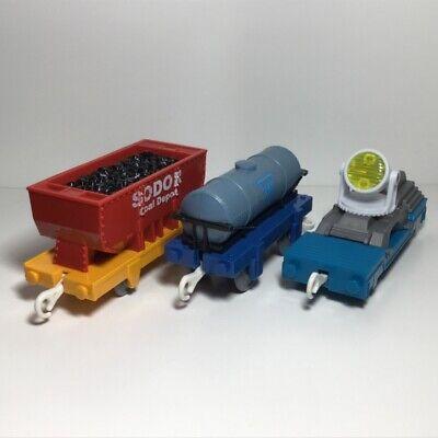 Thomas the Train Trackmaster Motorized - SODOR SEARCH & RESCUE CARS - T4648