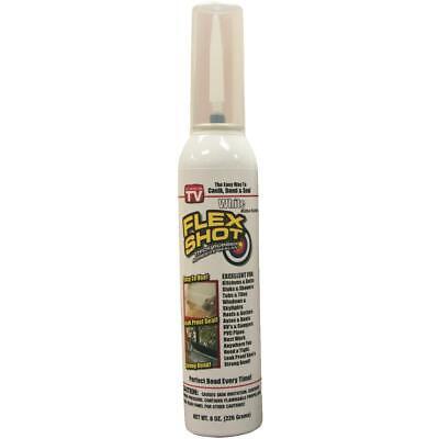 Flex Shot 8 Oz. Adhesive Rubber Sealant White Fsh8w-4 - 1 Each