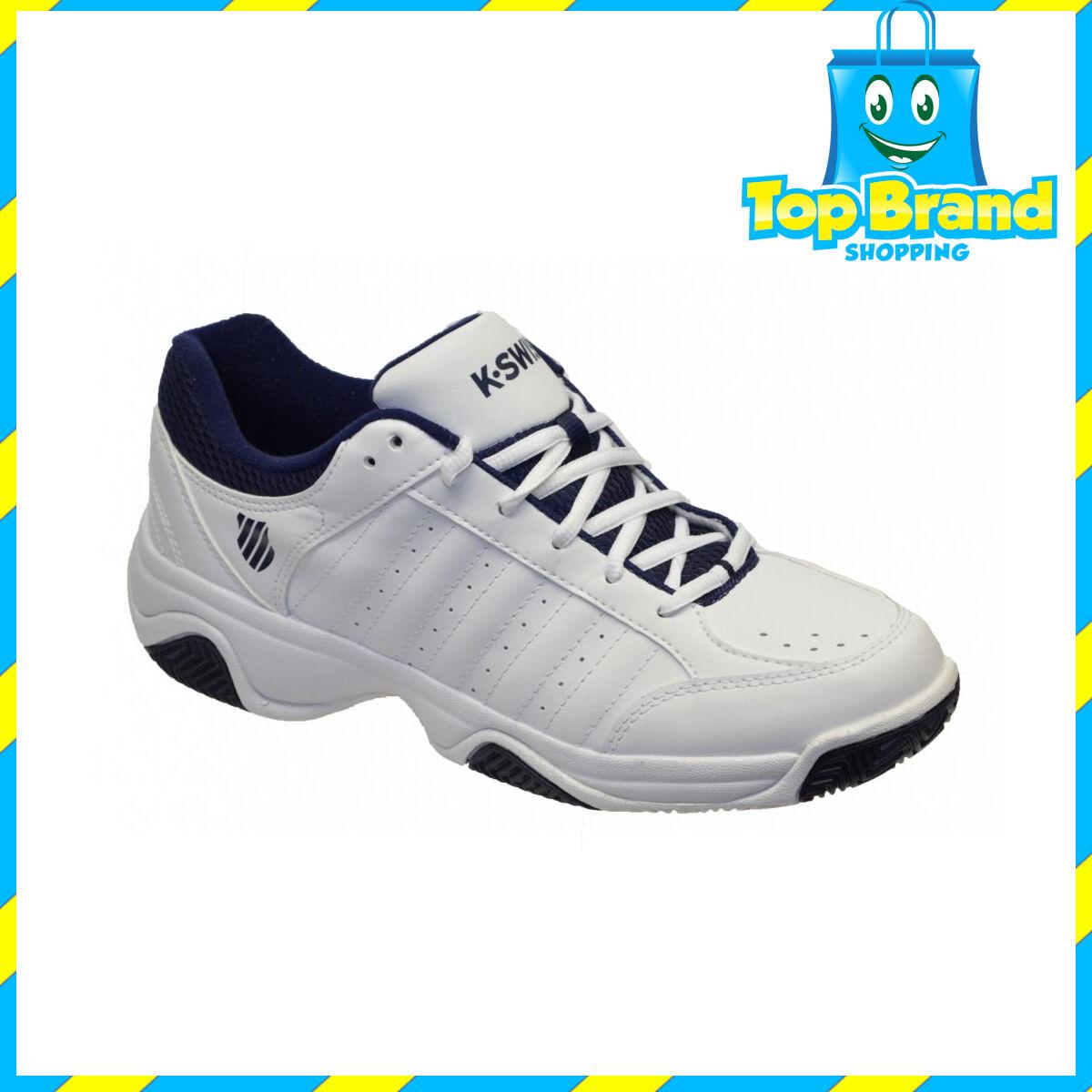 k swiss grancourt shoe iii white navy 03354109 mens