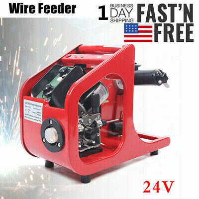Dc24v Carbon Dioxide Gas Shielded Welding Machine Co2 Mag Wire Feeder Automatic