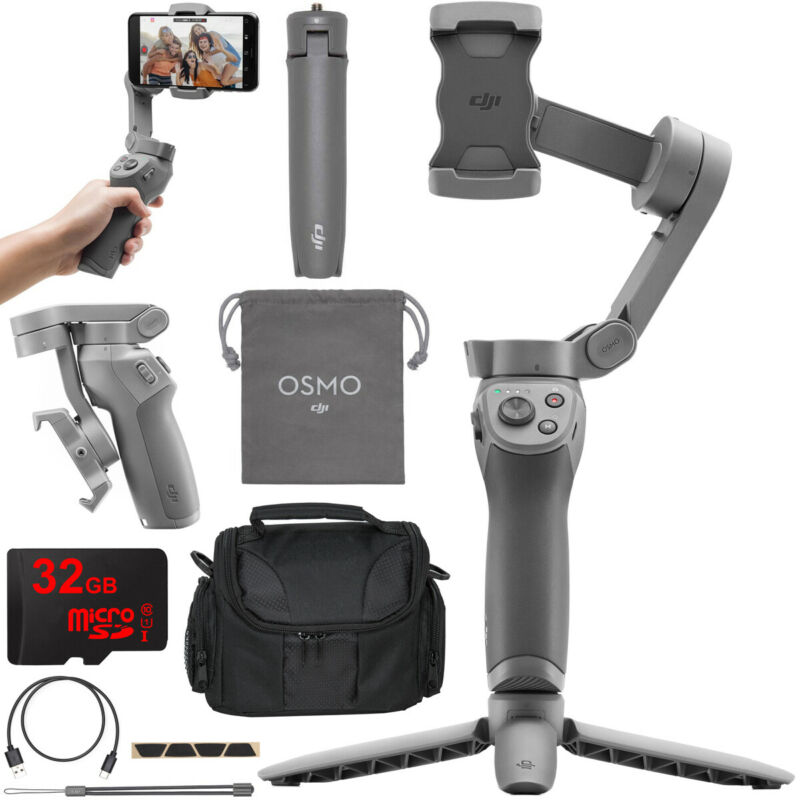 DJI OSMO Mobile 3 Handheld Gimbal 3-Axis Stabilizer Smartphone Essentials Combo