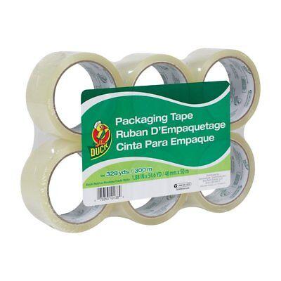 Duck Brand Standard Packaging Tape Refill 6 Rolls 1.88 Inch X 54.6 Yard Clear