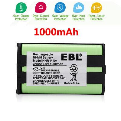 1000mAh HHR-P104 Ni-MH Cordless Phone Battery For Panasonic HHRP104 Type 29 USA 1000 Cordless Phone Battery