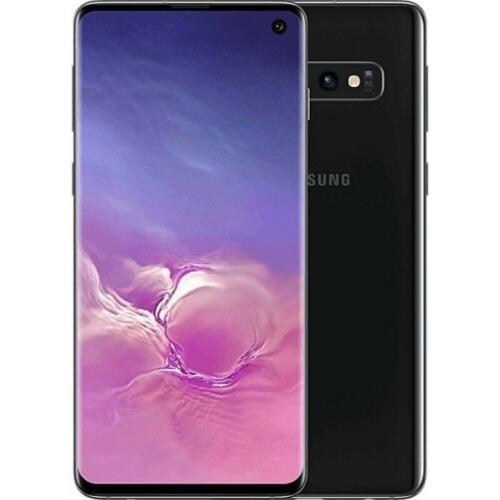 Samsung Galaxy S10 Black Sprint AT&T T-Mobile Verizon Factory Unlocked - Good -