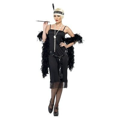 Flapper Girl Costume Adult Halloween Fancy Dress (Flapper Girl Costumes Adults)
