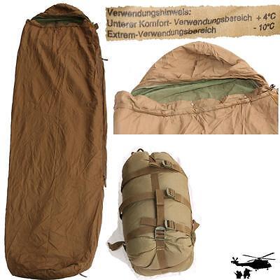 Carinthia Original Bundeswehr Sommer Tropen Schlafsack + Packsack + Moskitonetz
