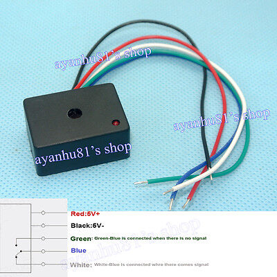 5-12v Laser Switch Sensor Receiver Relay Control Module For All Laser