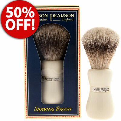 Mason Pearson Shaving Brush - MASON PEARSON SHAVING BRUSH SUPER BADGER FOR MEN MADE IN ENGLAND 50% OFF!!!!!!!!