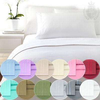 4 Piece Deep Pocket Bed Sheet Set 1800 series Brand new - Color Sheets