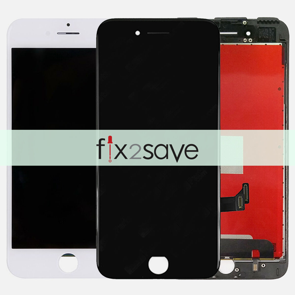 USA LCD Display Touch Screen Digitizer Assembly Replacement For iPhone 7 8 Plus