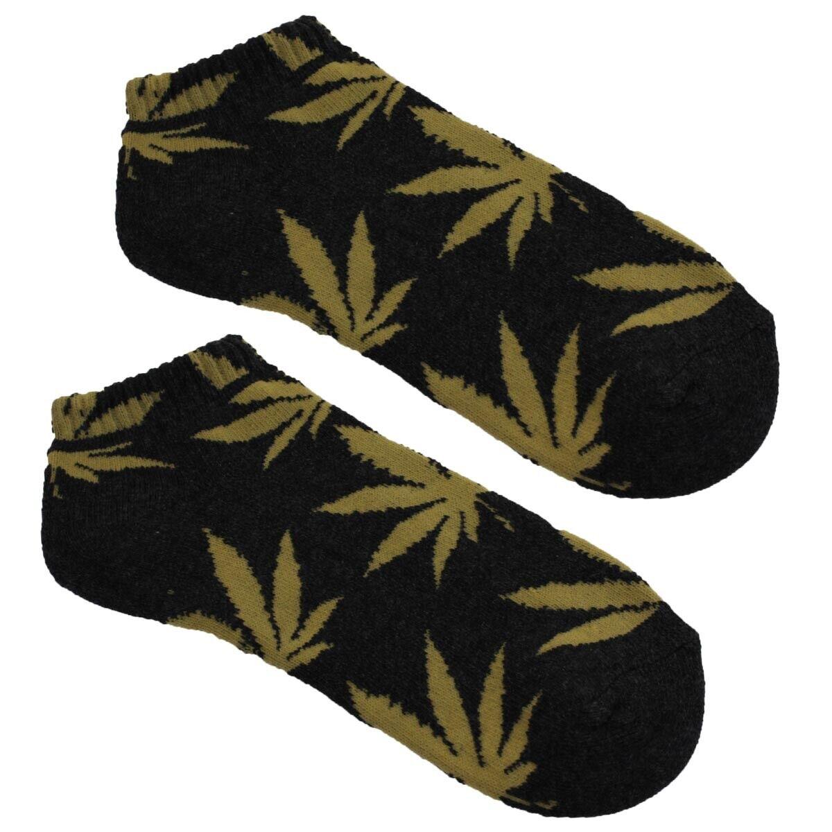 Sneaker Socken Halbsocken Plantlife Hanf Socken Cannabis Weed Unisex *Farbwahl