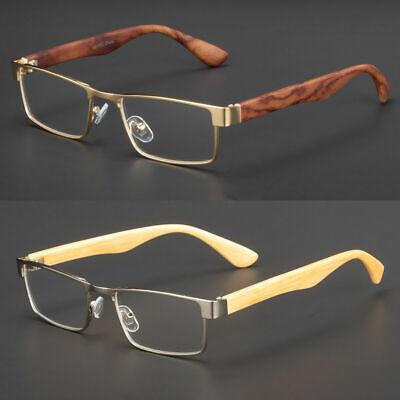 New Clear Lens Square Frame Eye Glasses Designer Womens Mens Fashion Retro Rx