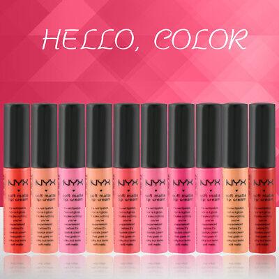NYX Matt Lippenstift Wasserdicht Make-up Long Lasting Lippenstifte Heiß Verkauf