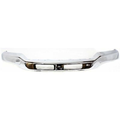 Front Bumper For 2003-2007 GMC Sierra 1500 Chrome Steel With mounting bracket(s)
